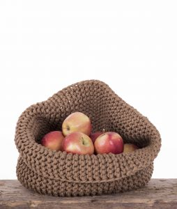 HAND KNITTED BASKET